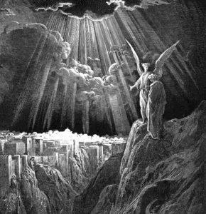 hvad betyder engel oprindeligt død mands hånd